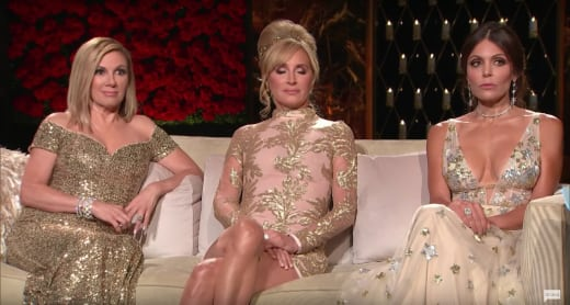 Dazzling In Gold - The Real Housewives of New York City