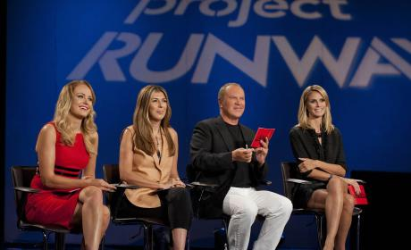 Malin Akerman on Project Runway