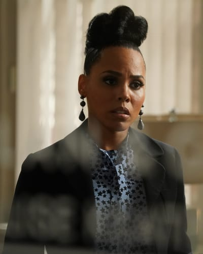 Tegan Stressed - How To Get Away With Murder Season 6 Episode 2
