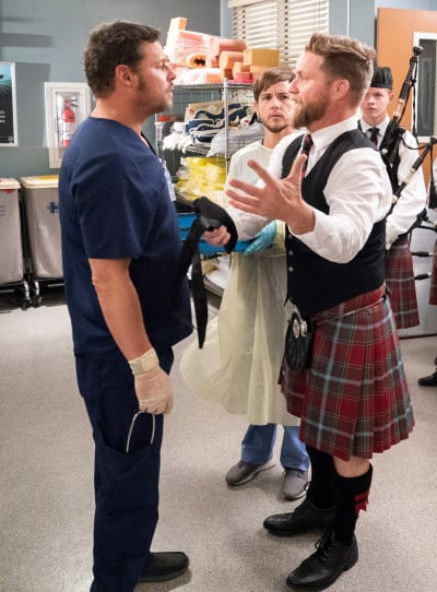 Comforting Seamus - Grey's Anatomy Season 15 Episode 13