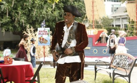 Lavon as a Pirate