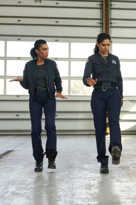 Dawson and Stella - Chicago Fire Season 7 Episode 18