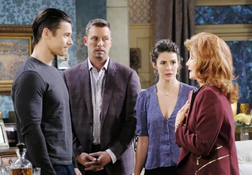 Questioning Xander - Days of Our Lives