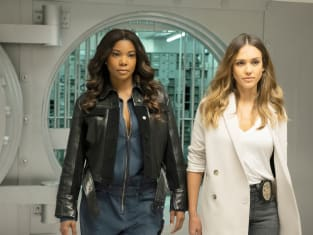 Gabrielle Union and Jessica Alba - LA's Finest