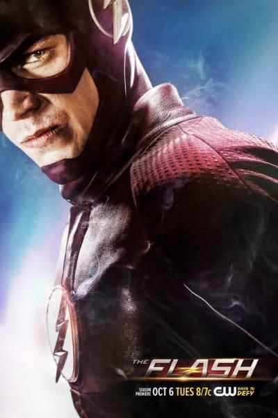 The Flash Season 2 In Smoke