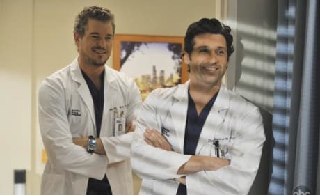Mark and Derek Smile