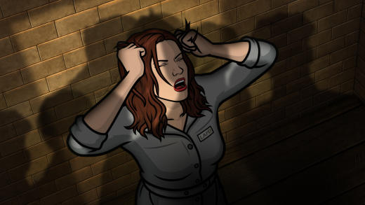Charlotte Vandertunt in Jail - Archer Season 8 Episode 3