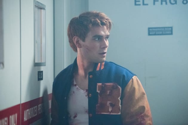 Red In Riverdale - Riverdale Season 2 Episode 1