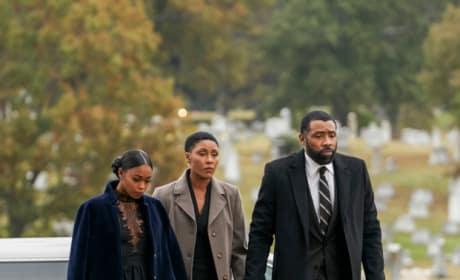 Funeral Guests - Black Lightning Season 2 Episode 12