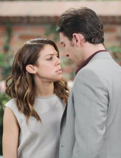 Abigail Spends the Night - Days of Our Lives