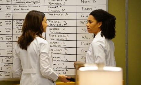 O.R. Board Shenanigans - Grey's Anatomy Season 13 Episode 22