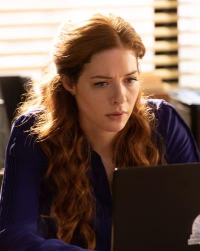 Rachelle Lefevre as Madeline Scott - Proven Innocent Season 1 Episode 1