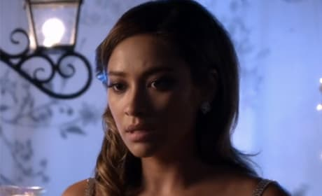 Emily Looks Worried - Pretty Little Liars Season 5 Episode 13