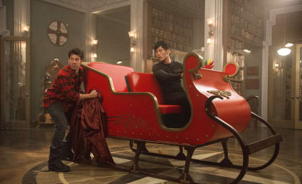 The Librarians Review: Christmas and Movie Magic