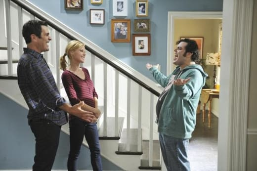 Josh Gad on Modern Family