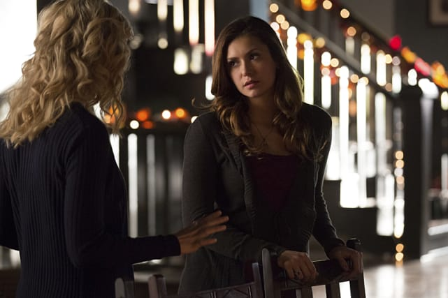 Elena and Liv - The Vampire Diaries Season 6 Episode 8