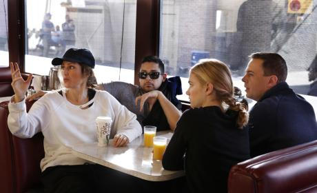 Meetin At The Diner - NCIS