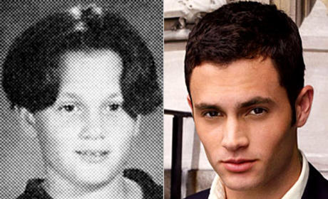 Penn Badgley Yearbook Photo