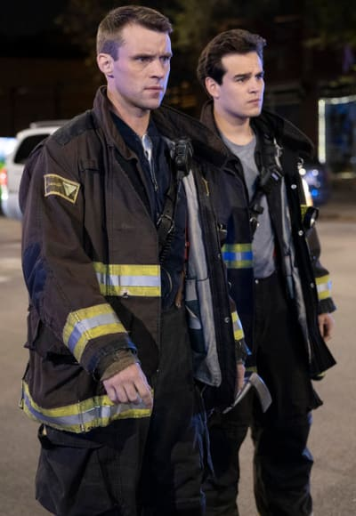 Casey and Gallo - Chicago Fire Season 8 Episode 10