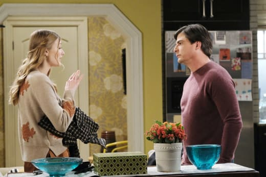 Allie Tells Lucas The Truth/ - Days of Our Lives