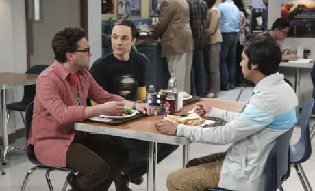 Lunch Time Conversations - The Big Bang Theory Season 10 Episode 21