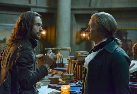 Ichabod and Jefferson Catch Up - Sleepy Hollow Season 2 Episode 16