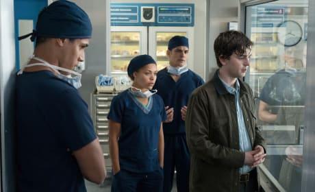 Doctors don't believe Murphy - The Good Doctor Season 1 Episode 1