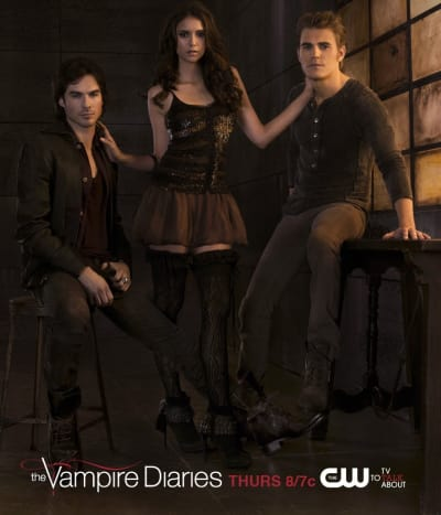 Poster for The Vampire Diaries