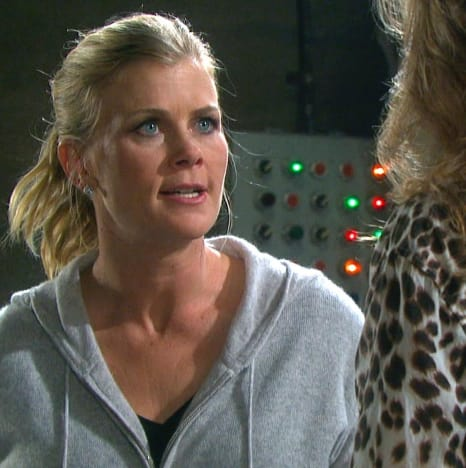 Sami Confronts Kristen (Tall) - Days of Our Lives