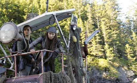 Memori - The 100 Season 4 Episode 4