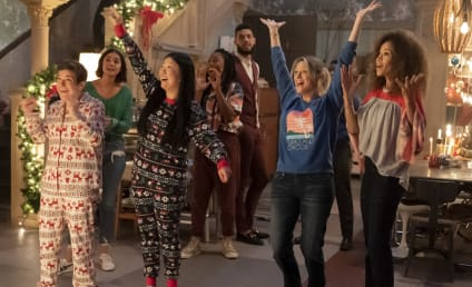 Good Trouble Holiday Special Sneak Peek: A Moms Visit and a Proposal?!