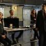 The team listens attentively - The Blacklist Season 4 Episode 20