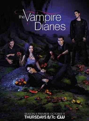 The Vampire Diaries Season 4 Poster