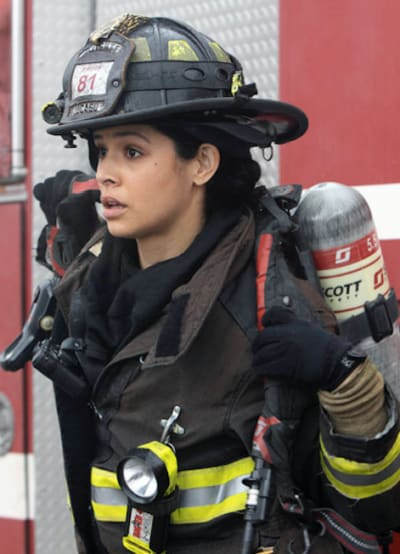 Kidd looks - Chicago Fire Season 9 Episode 3