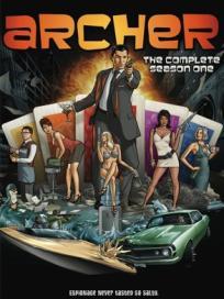 Archer season 1 DVD
