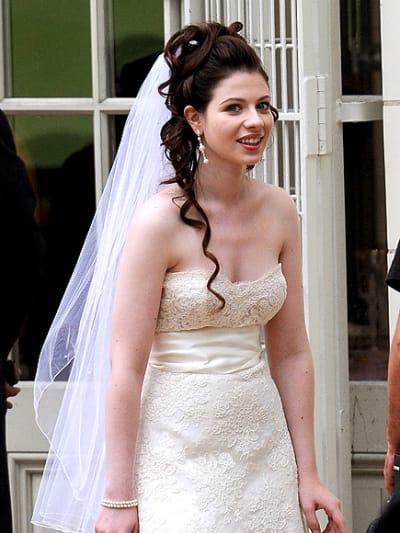 Michelle Trachtenberg, Wedding Dress