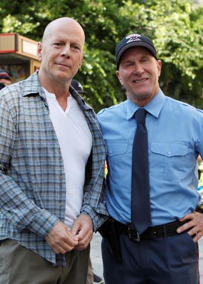 Bruce Willis and Larry Rippenkroeger
