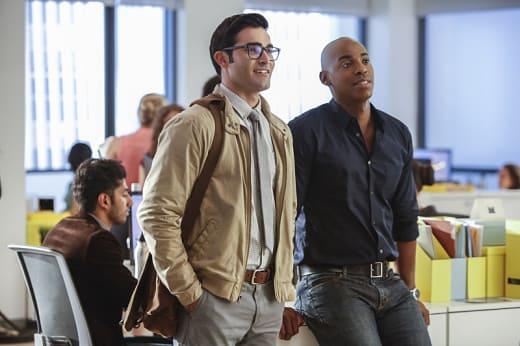 Clark and James - Supergirl Season 2 Episode 1