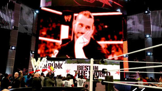 CM Punk on Screen