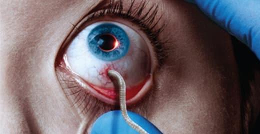 The Strain Eyeball Poster