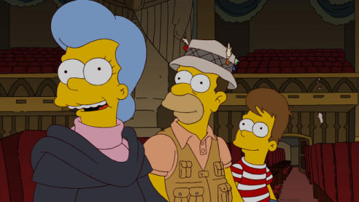 Homer and his Mother