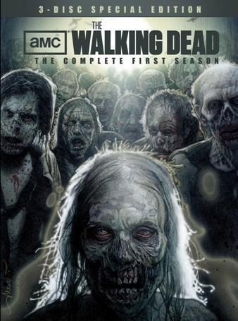 The Walking Dead Season One DVD Cover