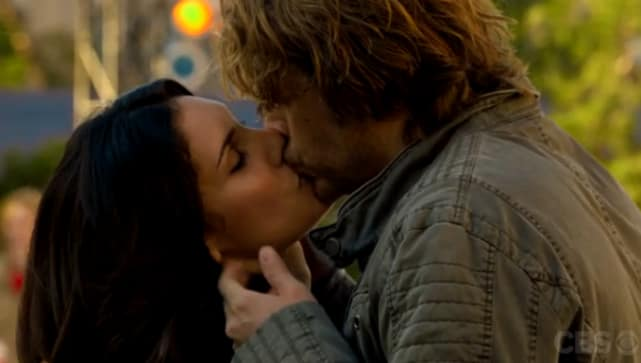 "Kensi and Deeks are all in -- NCIS LA, ""Humbug"""
