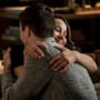 Dad and Daughter Hug - The Flash Season 5 Episode 7