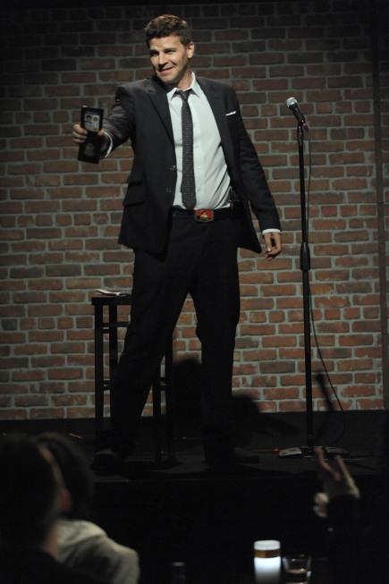 Stand-Up Comedian Booth