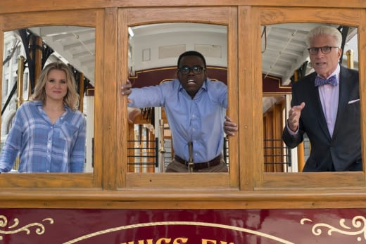 The Trolley Problem - The Good Place Season 2 Episode 6
