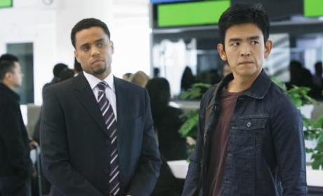 Michael Ealy on FlashForward
