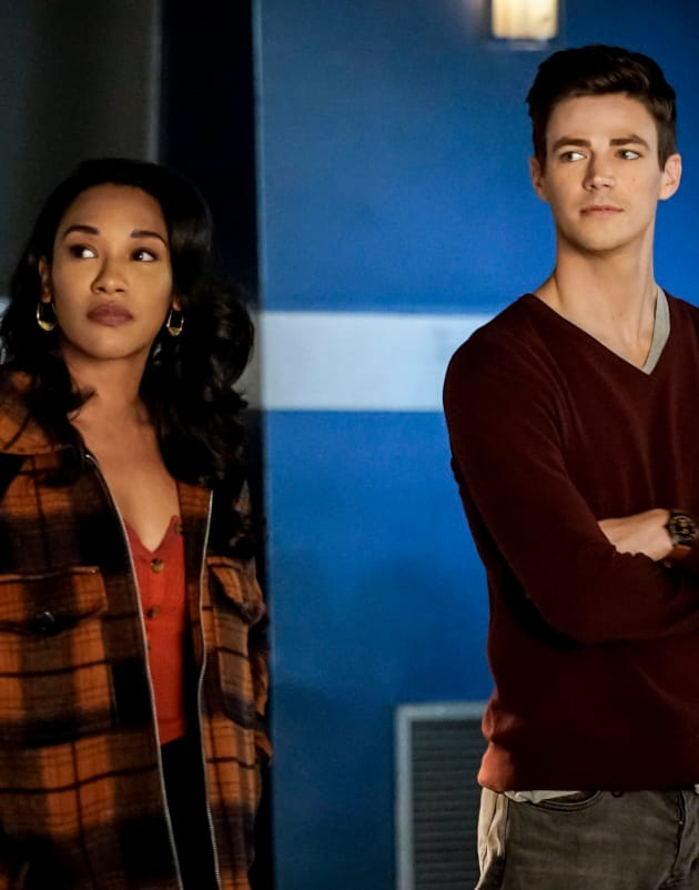 The West Allens Looking Pretty - The Flash Season 5 Episode 12