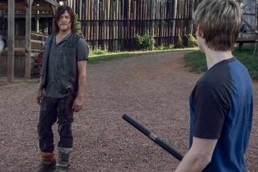 Holding A Grudge - The Walking Dead Season 9 Episode 11