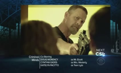 Criminal Minds Sneak Preview: Tracking a Parent Killer?